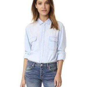 Rails Kendall Light Denim Tencel Button Down Shirt